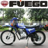 Air Cooled Off Road Motorcycle 250cc With Cargo Racks Handle Guards Bumper Head Signal Lights