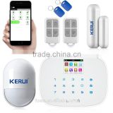 2016 Kerui 433mhz egg shape Pets-free PIR Motion sensor support phone Android and ISO control security alarm system