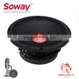 Soway SW-619 4ohm 500w 6.5 inch black color midrange speaker red dust cap