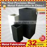 Powder Coated Finishing and Iron Metal Type flower pot