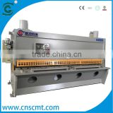 scmt CE certidication 8x4000mm Hydraulic guillotine shearing and steel plate cutting machine