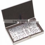 new design mini aluminum domino set for travel