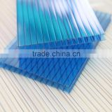 antioxidant light diffussion plastic awnings hollow polycarbonate sheet