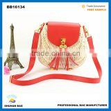 newest arrival rattan handmade bag, fashion shoulder beach bag whole sales beach tote bag