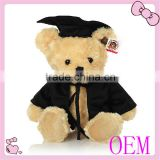 custom graduate plush teddy bear baby toy