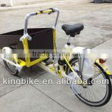 Tricycle Cargo Bike,Ice Cream Tricycle,Ice Cream Cargo Bike with Closed Cabin Cargo Tricycle with Refrigerator