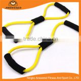 Latex Resistance Bands Stretch Tube Fitness Workout Exercise For Yoga Training, chest expander 8 Type