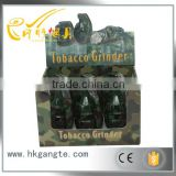 GT5036 The high quality grenade design two layers of metal fast herb /tabacco /weed grinder OEM
