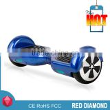 Red diamond Flash B1 chrome golden 2 wheel hoverboard wholesale hoover board 2 wheels with bluetooth