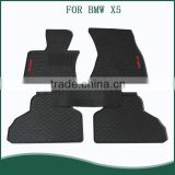 all-weather rubber floor mats -- FRONT&REAR Black For BMW X5 F15 cars
