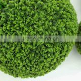 decorative artificial ball for garden, grass artificial ball for wholesale, china artificial ball