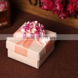 special wedding gift box for pink blossom