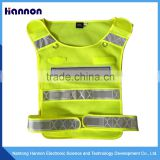 Traffic road waterproof reflective safety vest yellow