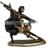 Decorations Ornaments Gifts Polyresin Bronze Figurine