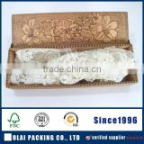 Wholesale Square Wedding Invitations Silk Tie Boxes