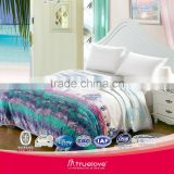 Factory price Anti stretch fire retardant machine washable home use microfiber travel blanket