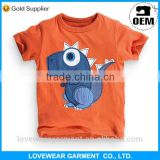 100%Cotton Baby Wholesale Clothing Baby China 13-18Months Baby Kid Boys T-Shirt With Print Or Embroidery Design Kid T-Shirt