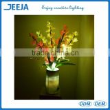 AC Plug Bright Fiber Optic Flower Lighting For Party/Holiday