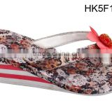Fashion Girls Wedge Flip Flops,High Heel Flip Flop Slippers