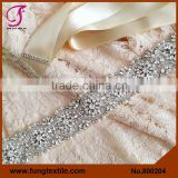 FUNG 800204 Wholesales Wedding Accessories Wedding Dress Sash Belt
