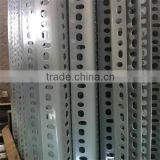 Steel slotted angle iron bar