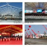 Large Tent , Clear Span Width Party Tent for Exhibition , Wedding and Outdoor Activities.