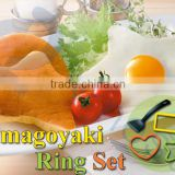 japanese food silicone molds kitchenware cooking utensils kids lunch bento tool turner tamagoyaki egg rings sets 75820