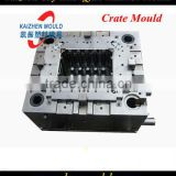 High precise plastic crate mould injection transport case mould injection mould