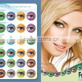 HOT cheap beauty look soft cosmetic Aqua freshtone colored contact lenses wholesale free color contacts