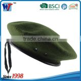 Cotton/Polyester custom french beret for men beret caps