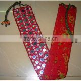 Vintage Tribal Banjara belts with mirror work BELLY DANCE HIP BELT WITH AUTHENTIC BANJARA EMBROIDERY