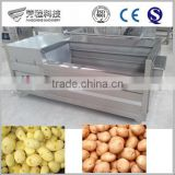 Hot Sale Stainless Steel 800kg/h Brush Roller vegetable/carrot/fruit/potato washing machine