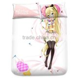 New Nanami Knight Bladefield - Kanojo ga Flag o Oraretara Japanese Anime Bed Sheet with Pillow Covers Blanket 1