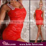 desingal 2015 sexy mature elegant mini dress backless sexy clubwear teenager girls sexy night red club dresses XXL