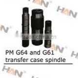 Putzmeister G64 and G61 transfer case spindle for concrete pump spare parts sany zoomlion cifa junjin ihi