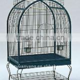 Top Large Bird Cage with Stand and Wheels metal wire mesh parrot cage