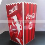 High quality plastic popcorn container FDA FREE