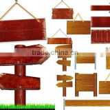 china suppliers FSC wholesale wooden craft signs for promotional manufacturer