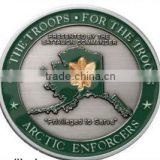 2015 popular cheap troop military coin with best quality