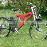 48V F/R disc brake mountain e bike 500W for sale