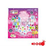 TOY MAKE UP SET KIT WITH LIPSTICK LIP GLOSS AND NAIL POLISH CHILDRENS GIRLS
