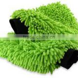 lint free microfiber chenille car cleaning mitts
