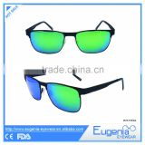 OEM fashion sunglasses with coloured lenses tac polarized sunglasses
