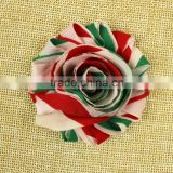 wholesale Shabby chiffon flowers printed rose flower