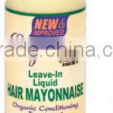 best quality leave-in liquid hair mayonnaise hair cream hair pomade china factory hair care cosmetics products