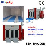 Factory price china supplier CE auto paint oven/removable car spray paint/spray paint machines