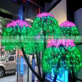 2014 new product best selling artificial LED blossom tree light for Christmas 2.5m white led outdoor tree light