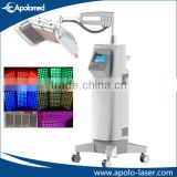 Red 635mm Green 560mm Blue 415mm PDT LED Skin Whitening Light Skin Whitening Bio Laser Therapy Pdt Led Therapy Machine Skin Rejuvenation Wrinkle Removal