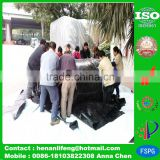 plastic 100% virgin HDPE anti uv waterproofing ro membrane geomembrane pond liner on sale