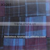 2016 new latest patchwork madras plaid fabric